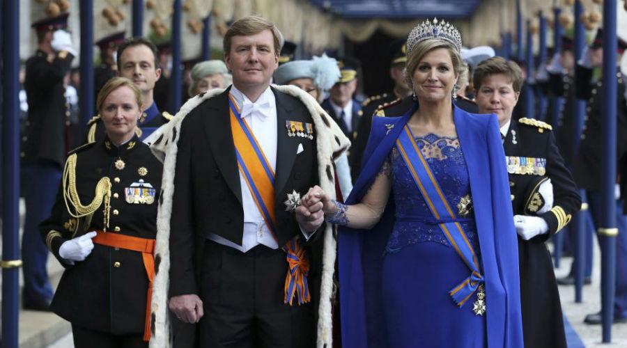 Guillermo y Máxima ya son los nuevos Reyes de Holanda